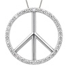 Peace Sign Pendants