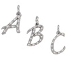 Letter Diamond Pendants
