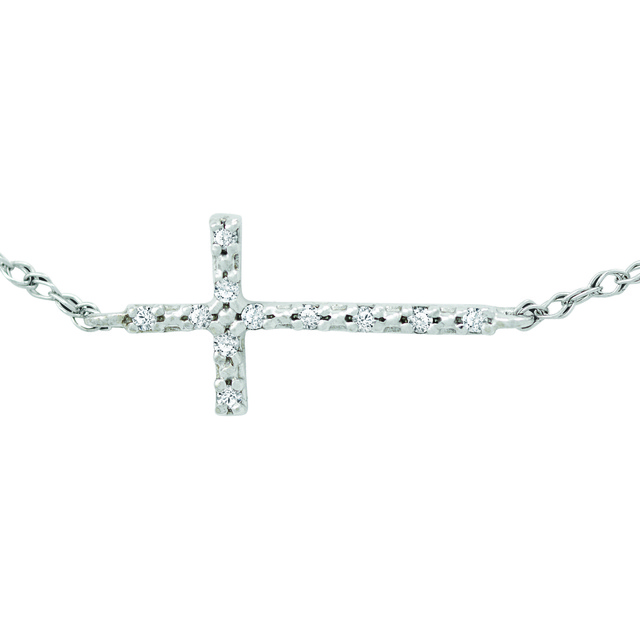 Sideways Diamond Cross