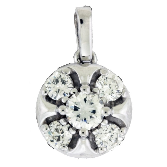 5 Diamond Pendant